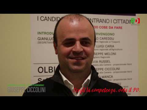 Primary pd sardegna candidating