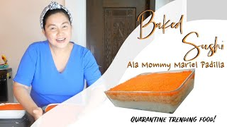 HOW TO MAKE AN OA BAKED SUSHI | QUARANTINE TRENDING FOOD