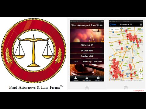 Find Attorneys in South Africa | Find Law Firms in South Africa