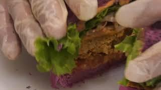 Des burgers végétaliens et colorés, découvrez Flower Burger