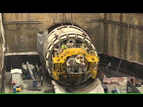 Riyadh Underground, Orange Line: The Giant Tunnel Boring Machine (TBM) Jazlah