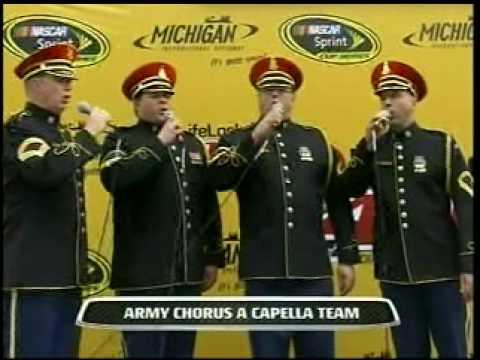 Star Spangled Banner Army Chorus A Capella Team 06-14-09