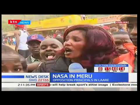 Residents of Laare, Meru county agitated as NASA expected to hold rally