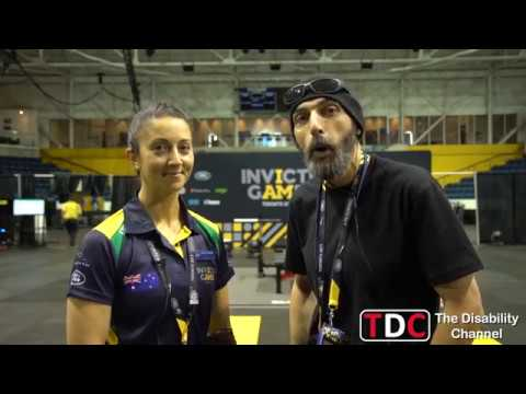 TDC Invictus Games 2017 - Sara Sliwka Interview