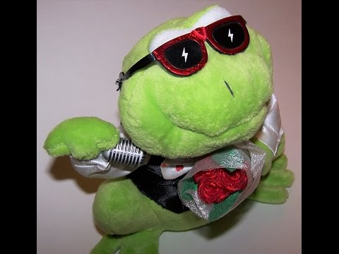 eBay Item # 122367257713 Dream Lovers Animated Singing Frog by Tekky Toys