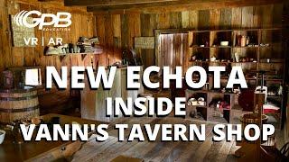 Inside Vann's Tavern General Store | New Echota VIRTUAL REALITY
