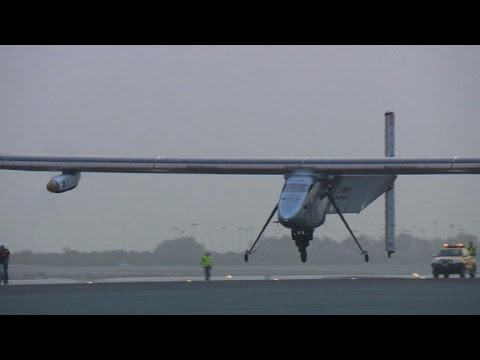 Solar plane leaves Oman for India, 2nd leg of world tour
