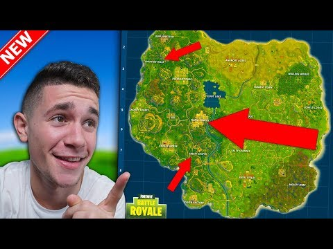 *NEW MAP* COMING TO Fortnite Battle Royale! Tilted Towers, Shifty Shafts & MORE!