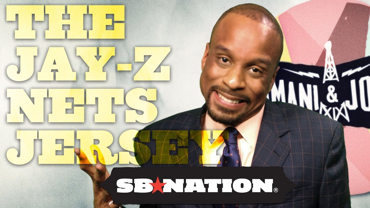 save off bc6a7 108c5 Why buy the Jay-Z Brooklyn Nets jersey? Bomani and Jones, episode 51