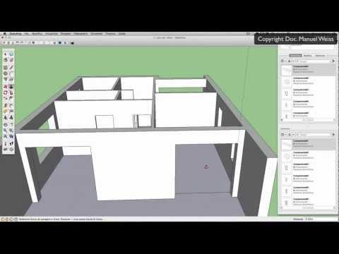 Tutorial SketchUp - Video 04 casa   primo piano