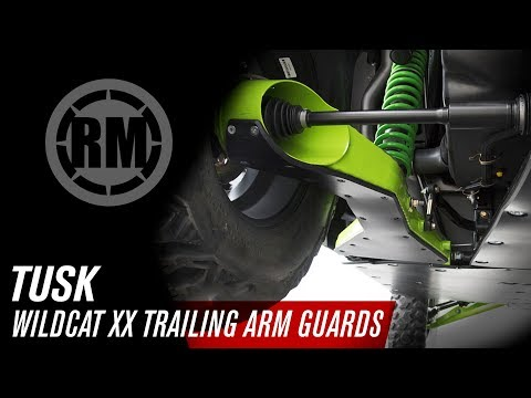Tusk Wildcat XX Quiet-Glide Trailing Arm Guards