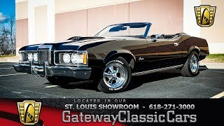 To purchase this car or for more information: https://www.gatewayclassiccars.com/stl/7948/1973-mercury-cougarto view 3000+ classic exotics, sale: http...