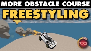 Rocket League | More Obstacle Course Freestyling!