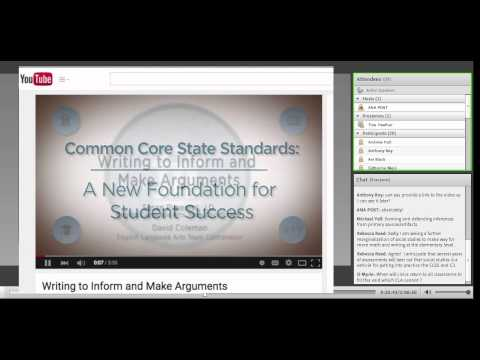 How does the C3 Framework align to the Common Core ELA?