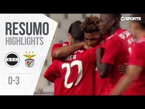 Highlights | Resumo: Sertanense 0-3 Benfica (Taça de Portugal 18/19 #3)