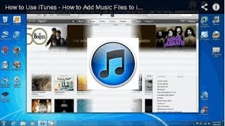 How to Use iTunes - How to Add Music Files to iTunes Library -  Free & Easy(, 2014-01-22T21:48:39.000Z)