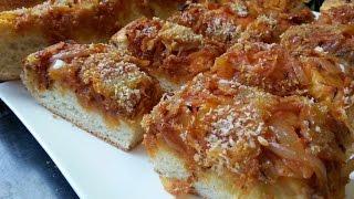 Cuisine Sicilienne - Le Sfincione Palermitano