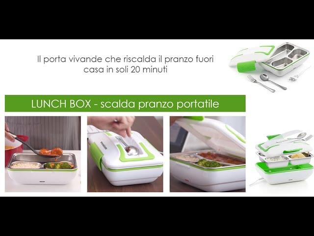 ⭐ NOVITÁ 2020: LUNCH BOX SCALDA PRANZO ELETTRICO PORTATILE (MEGLIO DI ARIETE E KASANOVA!)