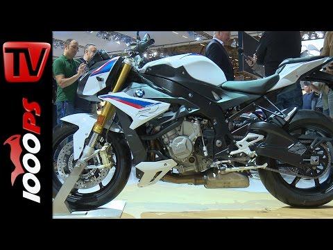 BMW S 1000 R - S 1000 RR - S 1000 XR - K 1600 GT NEU 2017 - Alle Neuerungen im Überblick