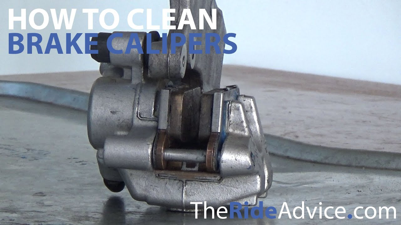how to clean  repair and rebuild motorcycle brake calipers