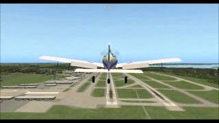 Agricultural Aircraft in x-plane simulation