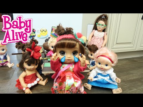 BABY ALIVE Lunas First Day Of School baby alive videos