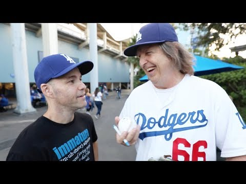 GETTING ROBBED by Moneyball Steve at Dodger Stadium