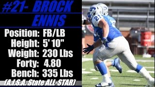 Video 2017- Street Light Recruiting SR Film- FB-LB- BROCK ENNIS (5' 10''- 230) -Chambers Academy (AL) download MP3, 3GP, MP4, WEBM, AVI, FLV Mei 2018