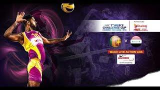 Sri Lanka v Iraq – Semi Final (1st-4th Place) - 1st Asian Men's Volleyball Challenge Cup