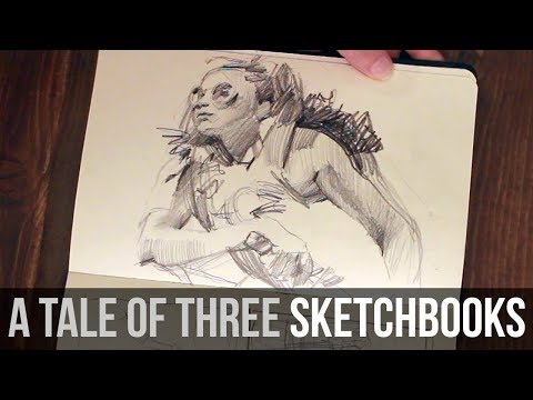 Quick Sketchbook Tour + Chat