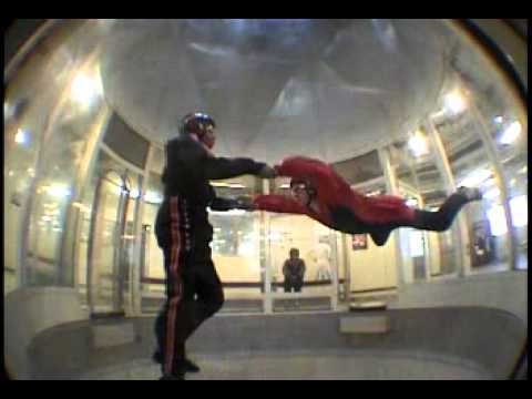 Indoor Skydiving in Arizona: Scott White Personal Trainer first flight