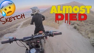 First pit bike ride out with my boys,im riding a apollo 125cc Pit bike Ji is on 125cc apollo also and nate coolster 125cc click here to become apart of the fam!