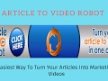 Articles To Video Marketing Live Stream