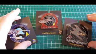 STAR TREK DISCOVERY COLLECTIBLES - Microfleet Pins