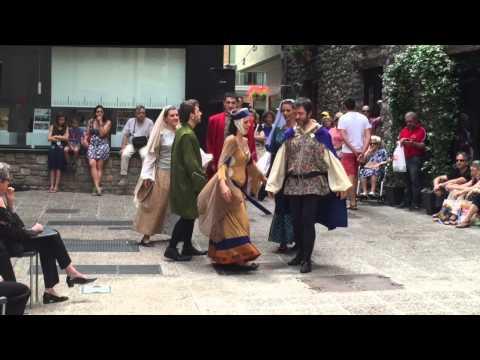 Andorra medieval dance
