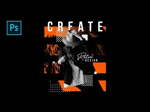 How to Create Retro Style Poster Design in Photoshop - #Photoshop Tutorials