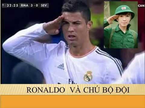 Tổng  hợp các pha ăn mừng của Ronaldo