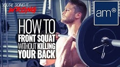 hqdefault - Front Squats Back Pain