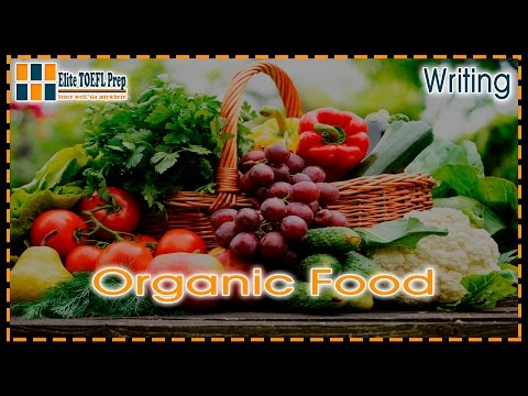 TOEFL | Integrated Writing Task | Organic Food