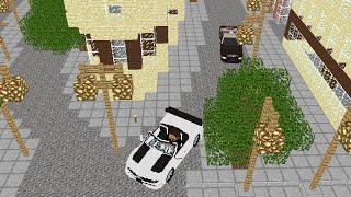 GTA 5 Police Chase Minecraft Animation
