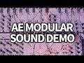 Capture de la vidéo Ae Modular Synth Sound Demo #1 (No Talking) #ttnm
