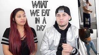 What We Eat In A Day? Question & Answer Video With Rudeenumber1 - Alexisjayda