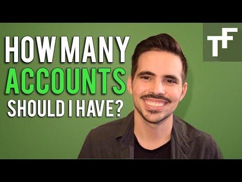How Many Accounts Should I Have?