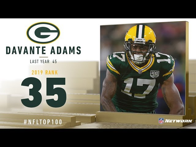 #35: Davante Adams (WR, Packers)   Top 100 Players of 2019   NFL