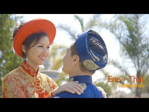 Ene + Thai // Hayes Mansion wedding