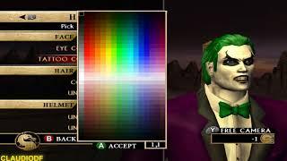 Mortal Kombat Armageddon CORINGA (THE JOKER) - (VERY HARD) - (WII)【TAS】