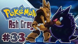 Pokémon Ash Gray Ep.33 - GENGAR GIGANTE vs ALAKAZAM GIGANTE
