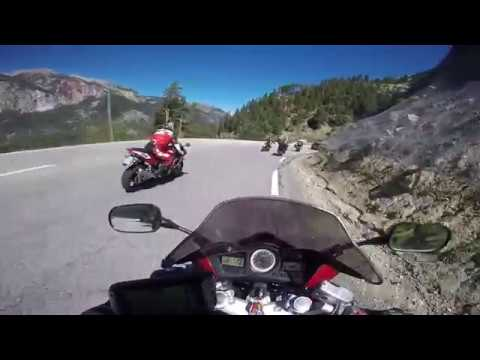 Alps on wheels, Aussois in France to Saint-Tropez through Italy