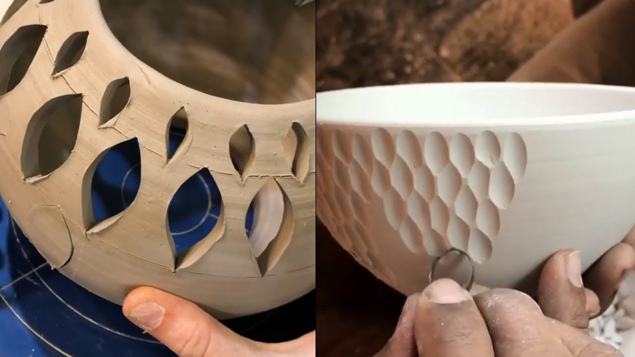 satisfying pottery    ceramics video compilation  ultimate