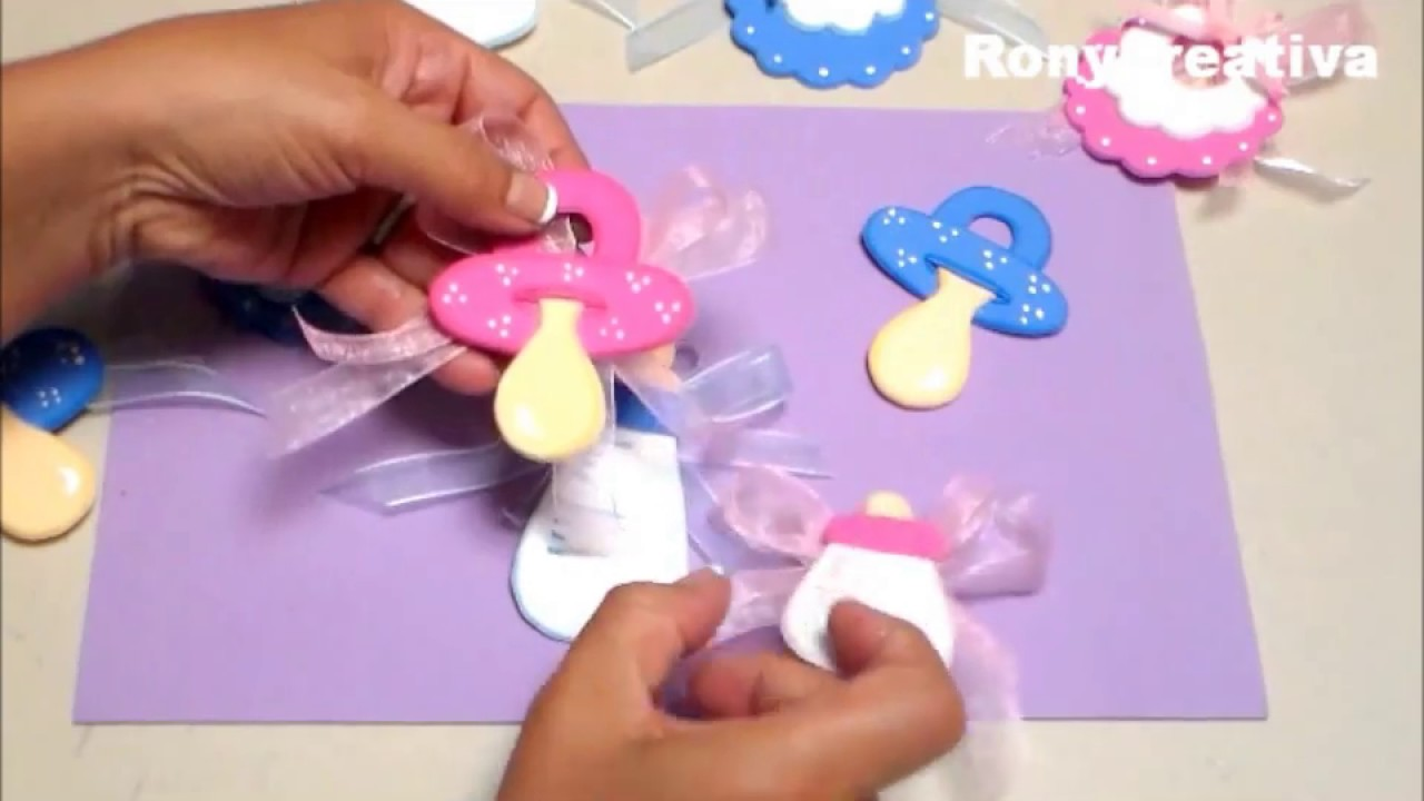 Baby Shower Distintivos Niña ~ Diy baby shower gifts homemade presents